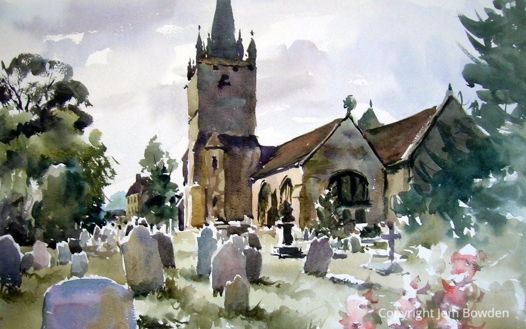 Corsham church. For sale